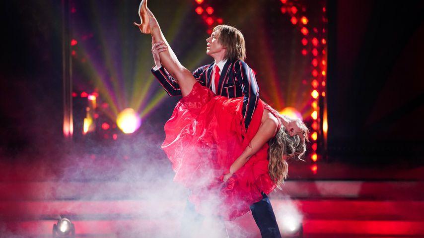 """John Kelly und Regina Luca bei """"Let's Dance"""""""