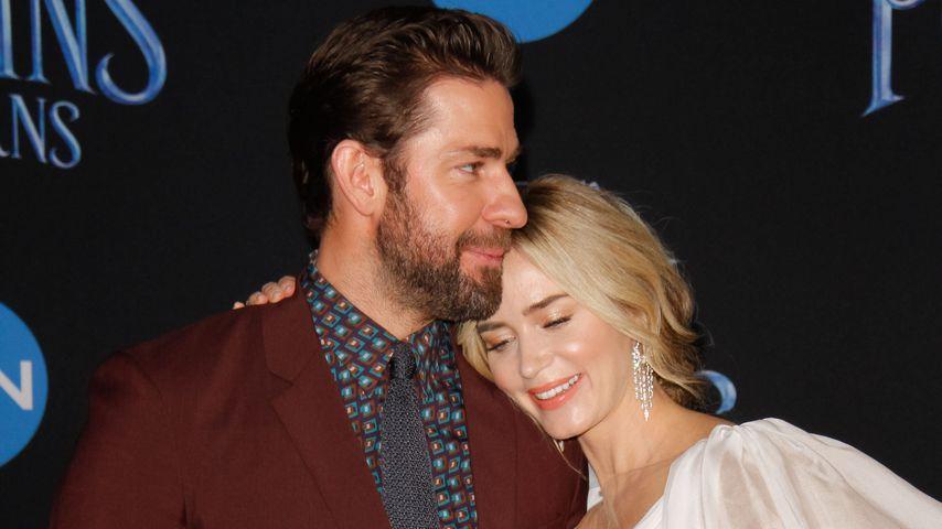 """John Krasinski und Emily Blunt bei der Weltpremiere von """"Mary Poppins' Rückkehr"""""""