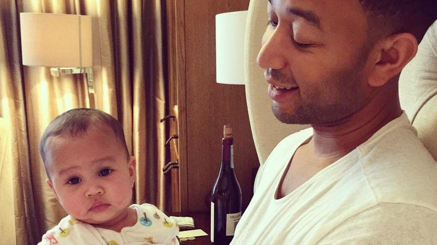 """John Legend: Töchterchen Luna ist seine """"kleine Legende"""""""