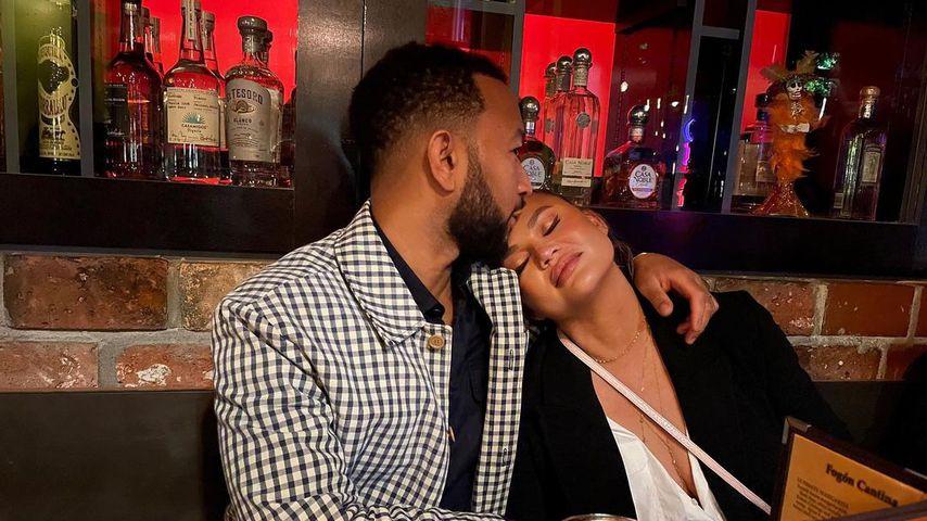 John Legend und Chrissy Teigen im September 2021