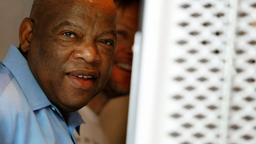 John Lewis in Washington D.C. im April 2009