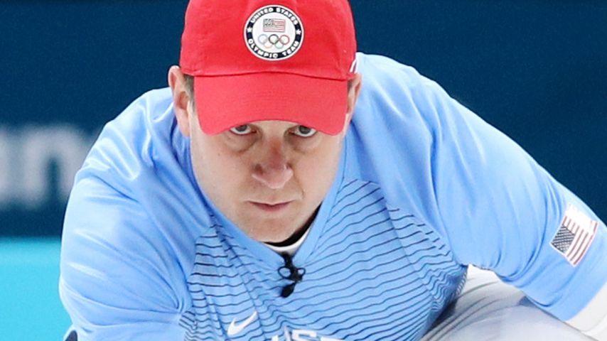John Shuster vom US-Curling-Team bei den Olympischen Spielen 2018