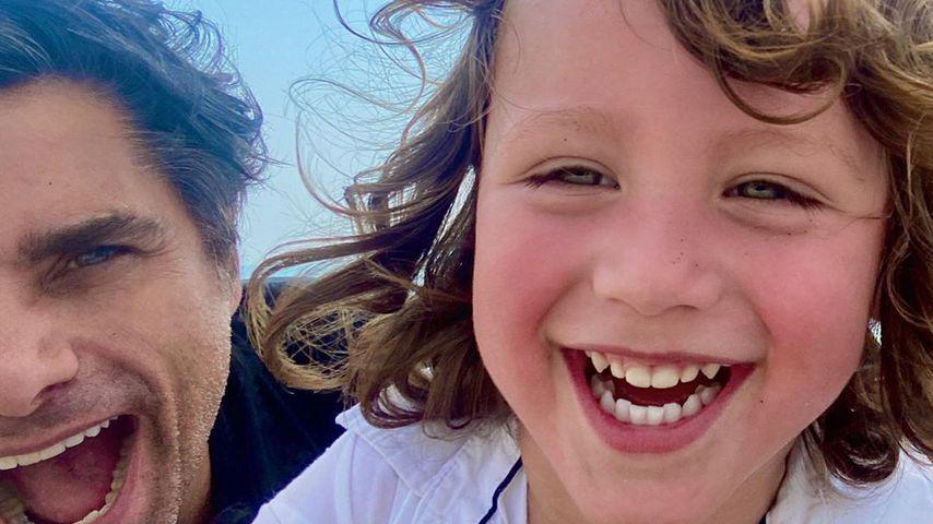 John Stamos mit seinem Sohn Billy im August 2020