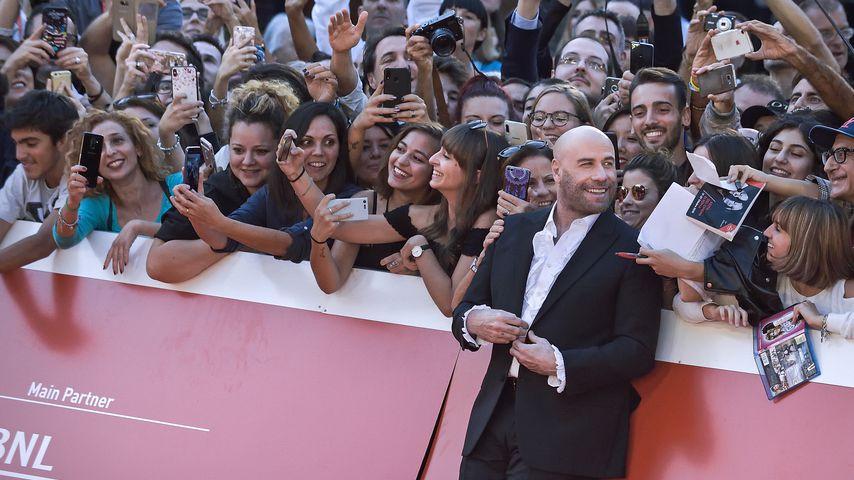 John Travolta beim 14. Filmfestival in Rom, Oktober 2019
