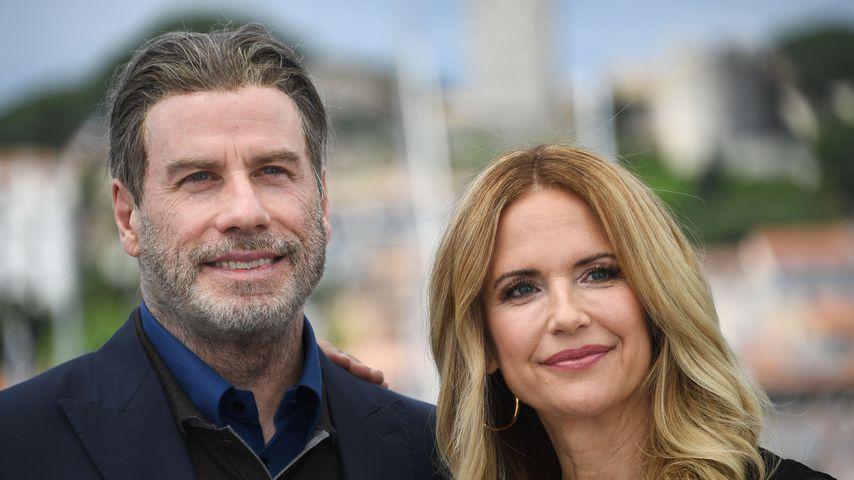 John Travolta und Kelly Preston im Mai 2018