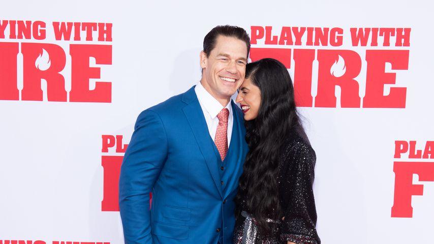 John Cena und seine Frau Shay Shariatzadeh