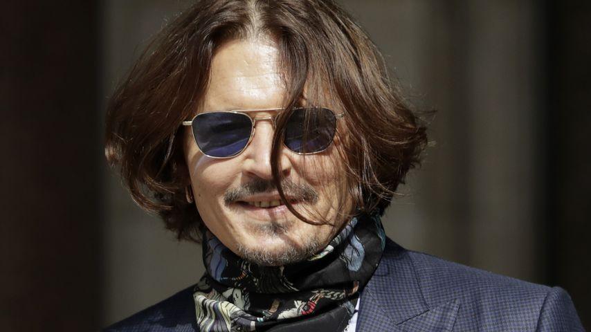 Johnny Depp im Juli 2020