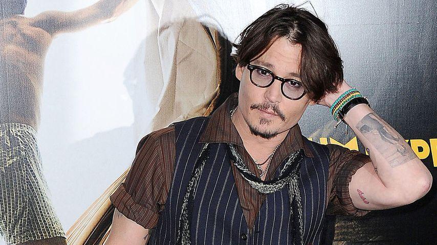 Erotische Szene mit Johnny Depp ist wie Puppen-Sex