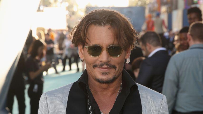 """Johnny Depp bei der Premiere von """"Fluch der Karibik: Salazars Rache"""""""