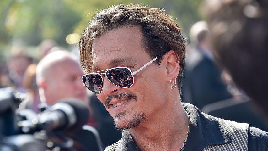 Johnny Depp im Disneyland Paris