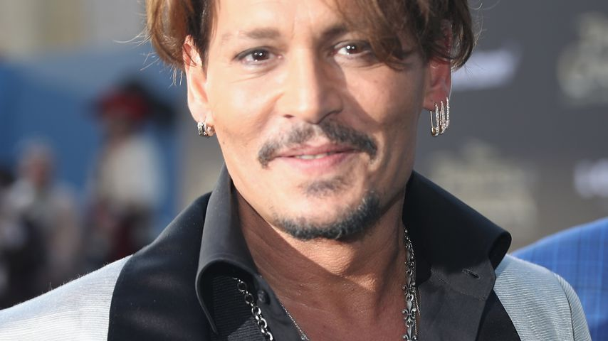 "Johnny Depp bei der ""Pirates of the Caribbean 5""-Premiere in Hollywood"