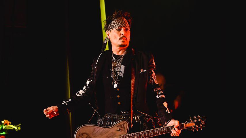 Johnny Depp bei einem Auftritt im Mai 2019