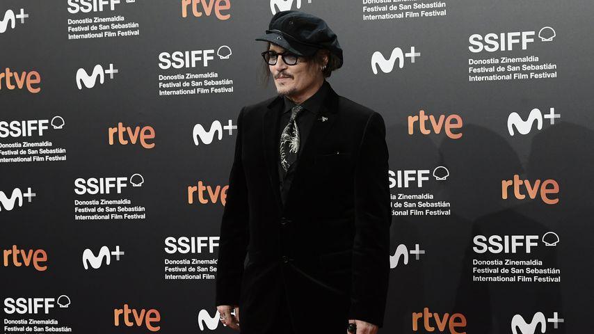 Johnny Depp im September 2021