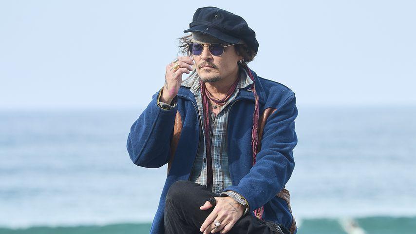 Johnny Depp in Spanien, September 2021