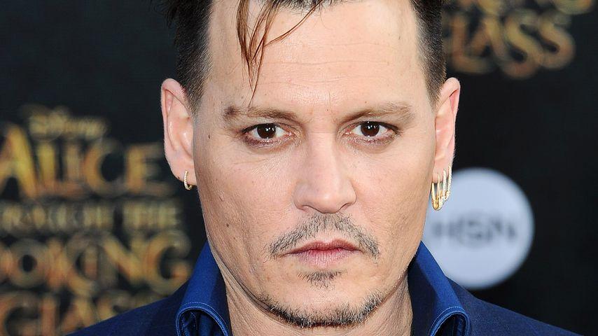 Geht's noch? Superstar Johnny Depp will im Untergrund leben!