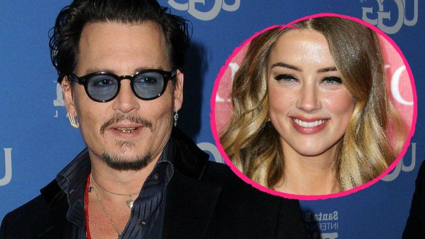 Johnny Depp: So romantisch begann die Liebe zu Amber Heard!