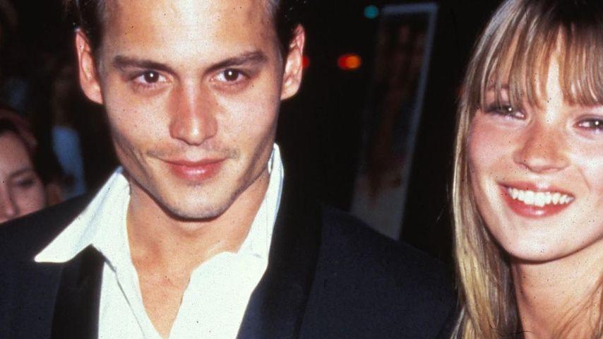 Kate Moss: Liebeserklärung an Johnny Depp