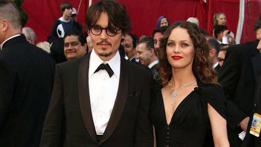 Johnny Depp und Vanessa Paradis bei den Oscars, 2008