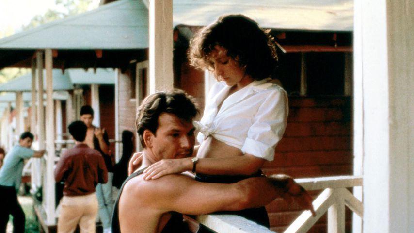 "Johnny (Patrick Swayze) und ""Baby"" (Jennifer Grey) in ""Dirty Dancing"""