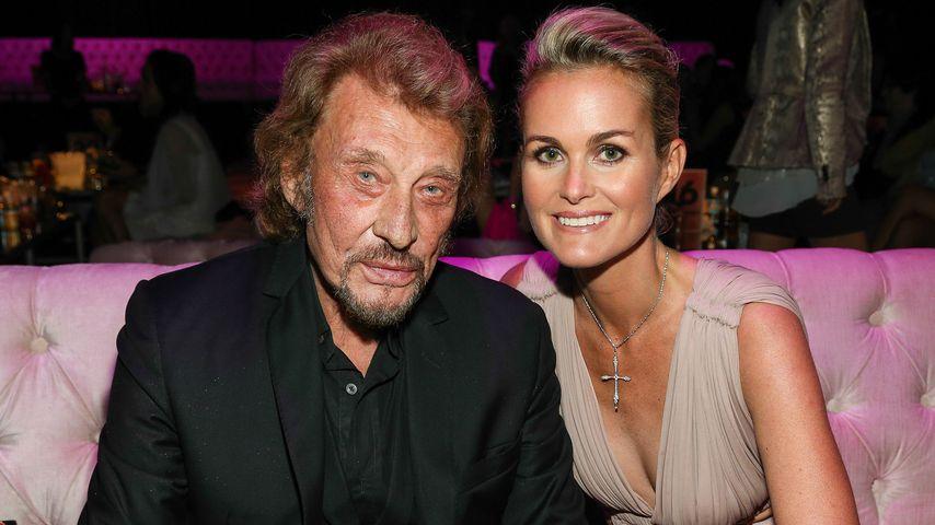 Johnny und Laeticia Hallyday im Oktober 2013 in Los Angeles
