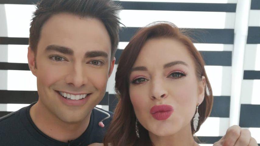"""Fans begeistert: Mini-""""Girls Club""""-Reunion bei Lindsay Lohan"""