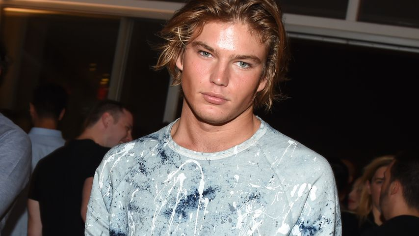 Jordan Barrett bei der New York Fashion Week 2016