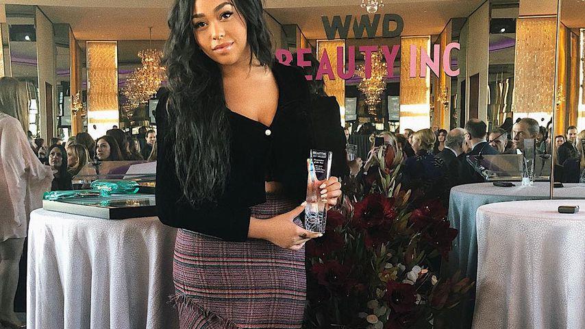 Jordyn Woods bei den WWD Beauty Inc Awards 2017