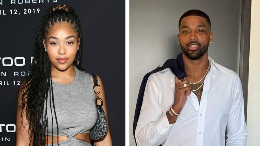 Collage: Jordyn Woods und Tristan Thompson