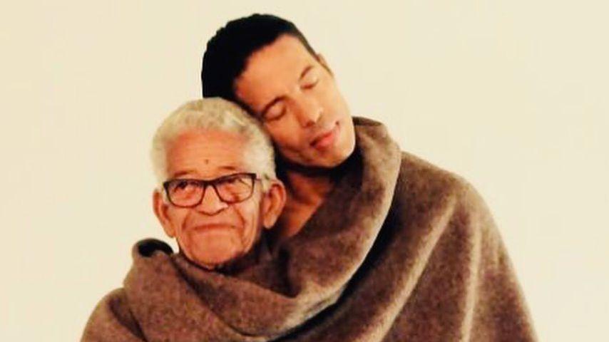 Jorge Gonzalez mit seinem Papa