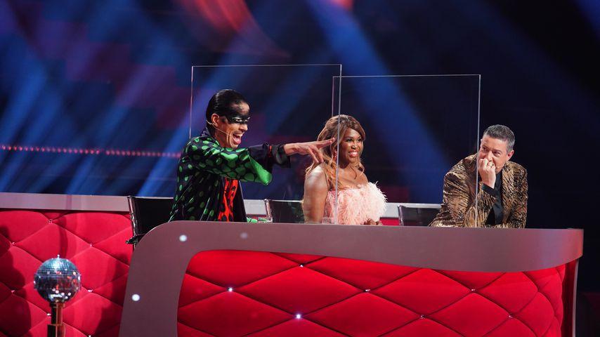 "Jorge Gonzalez, Motsi Mabuse und Joachim Llambi bei der ""Let's Dance""-Profi-Challenge"
