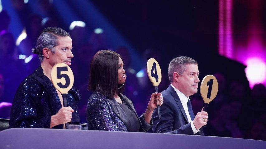 "Jorge Gonzalez, Motsi Mabuse und Joachim Llambi bei ""Let's Dance"" 2020"
