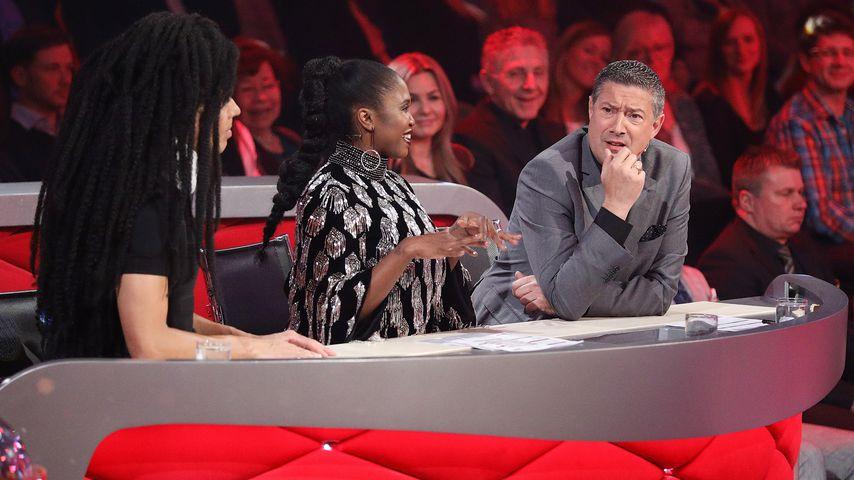 "Jorge Gonzalez, Motsi Mabuse und Joachim Llambi in der dritten ""Let's Dance""-Show 2018"