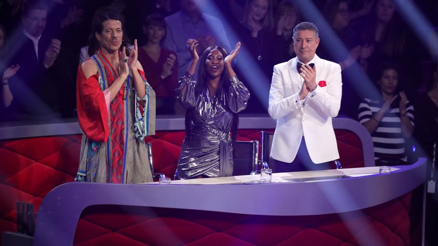 "Jorge Gonzalez, Motsi Mabuse und Joachim Llambi im März 2019 bei ""Let's Dance"""