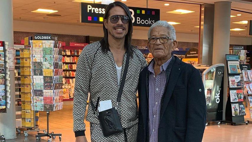 Jorge Gonzalez und sein Papa Gudelio