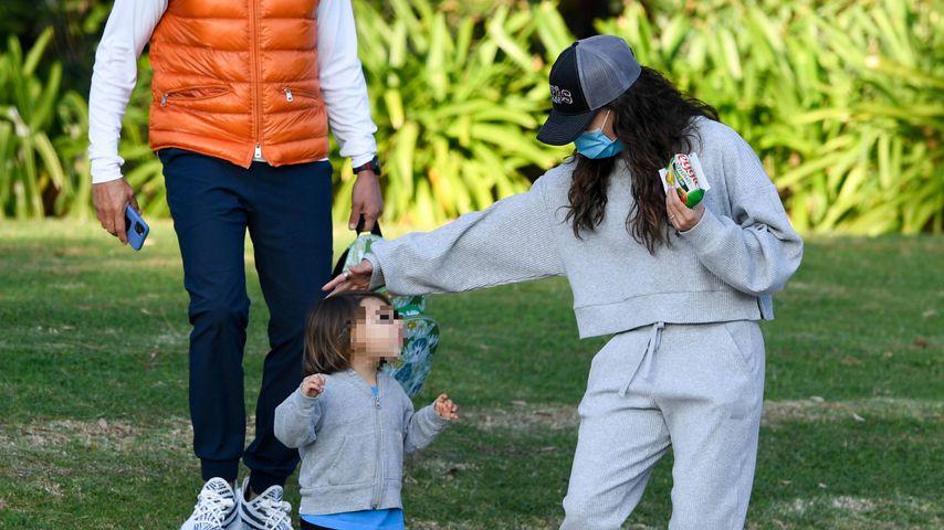 Wahnsinn: So groß ist Eva Longorias Sohn Santiago schon!