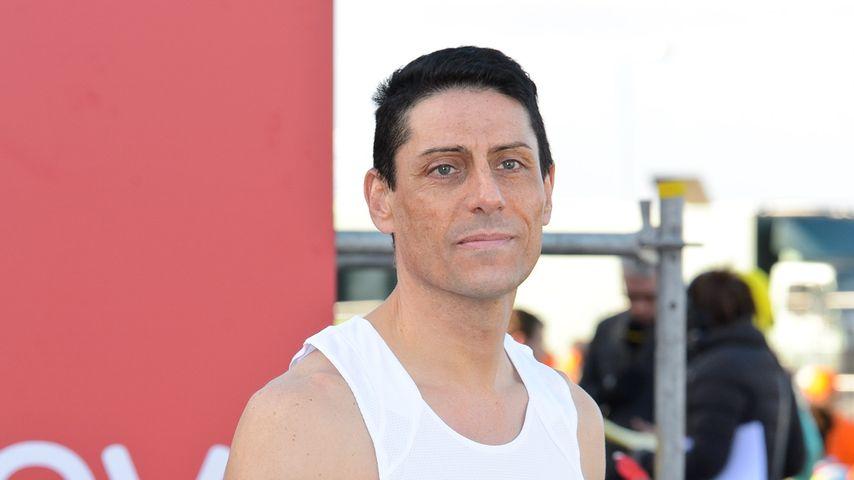Joseph Connagh bei einem Marathon