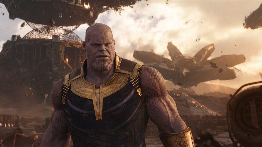 "Josh Brolin als Thanos in Marvels ""Avengers: Infinity War"""