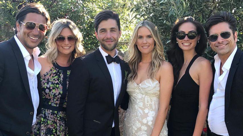Hochzeitsfoto von Schauspieler Josh Peck