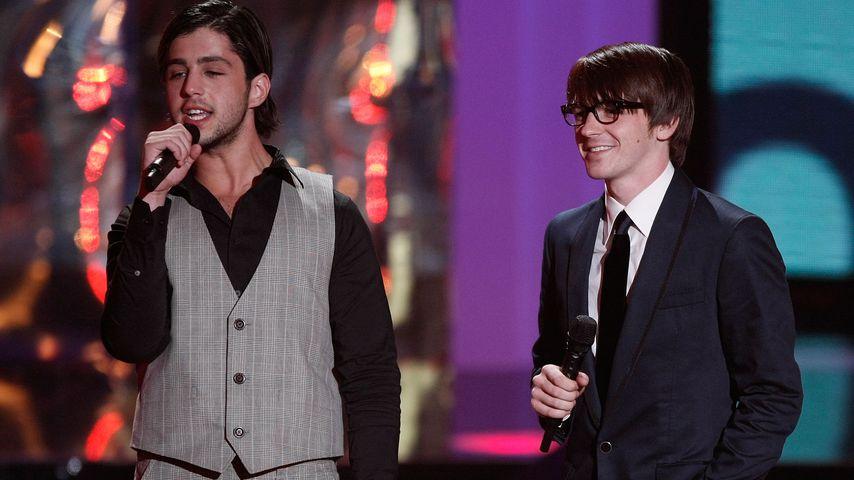"Josh Peck und Drake Bell bei den ""MTV Video Music Awards"", 2008"