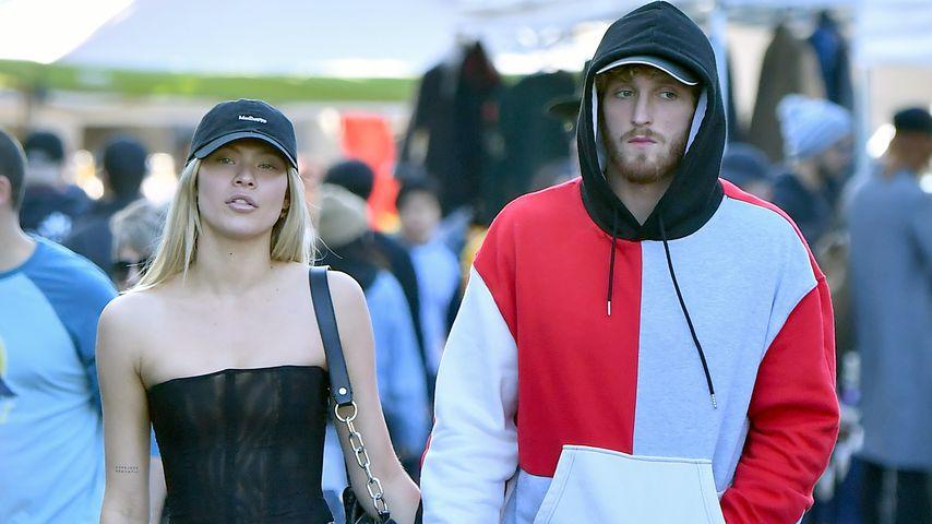 Josie Canseco und Logan Paul im Januar 2020