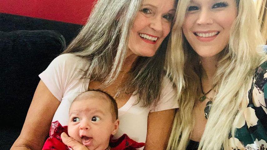 Joss Stone mit ihrer Mutter Wendy Stoker und Tochter Violet