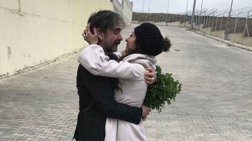 Journalist Deniz Yücel und seine Frau Dilek