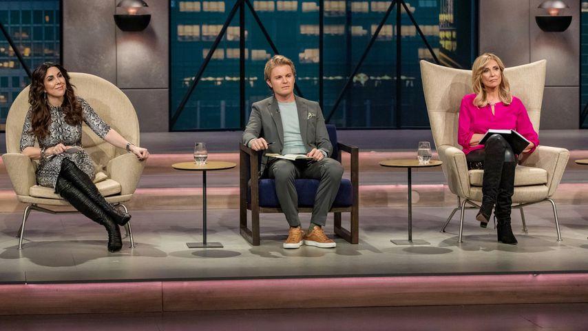 """Judith Williams, Nico Rosberg und Dagmar Wöhrl bei """"Die Höhle der Löwen"""""""