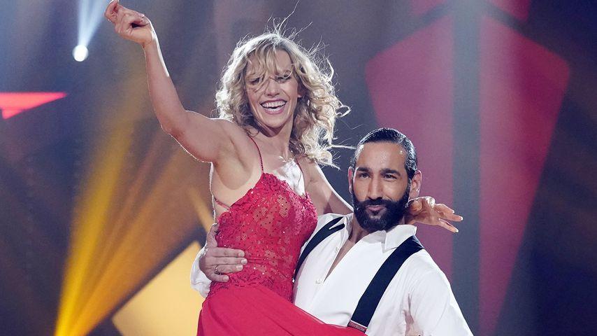 """Julia Dietze und Massimo Sinató bei """"Let's Dance"""", Show sieben"""