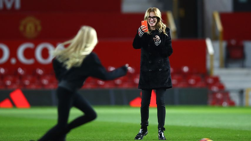 Kick it like Roberts! Julia & ihre Familie im Fußball-Fieber