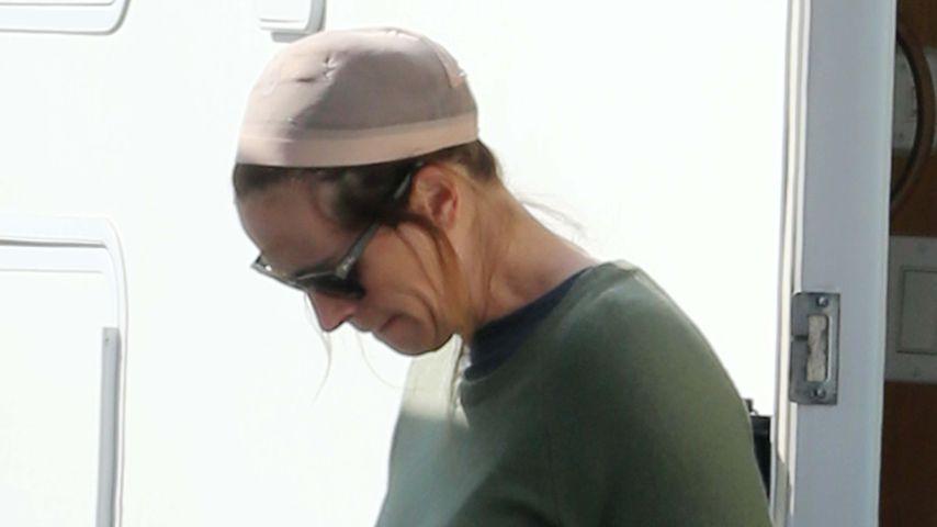 Kaum wiederzuerkennen: Julia Roberts mit Haarnetz