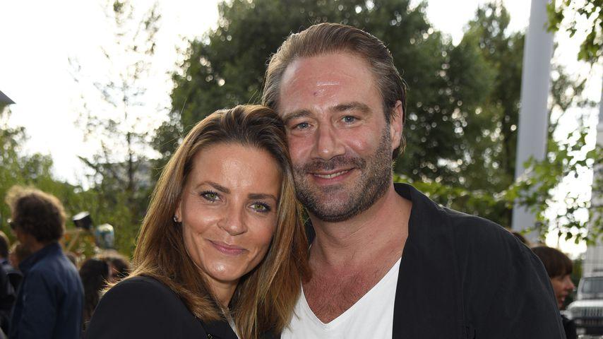 Sasha mit seiner Ehefrau Julia in Berlin