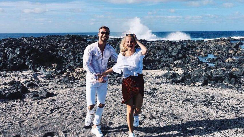 Julian Evangelos und Stephanie Schmitz auf Lanzarote