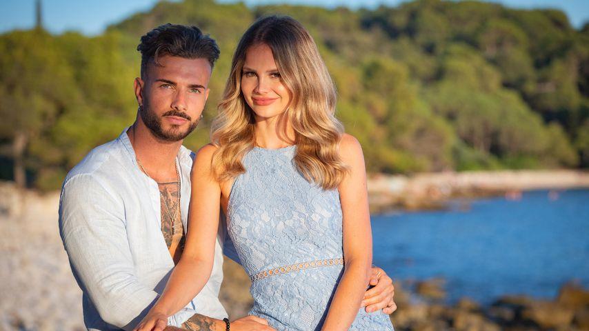 Julian Evangelos und Stephanie Schmitz, Promipaar