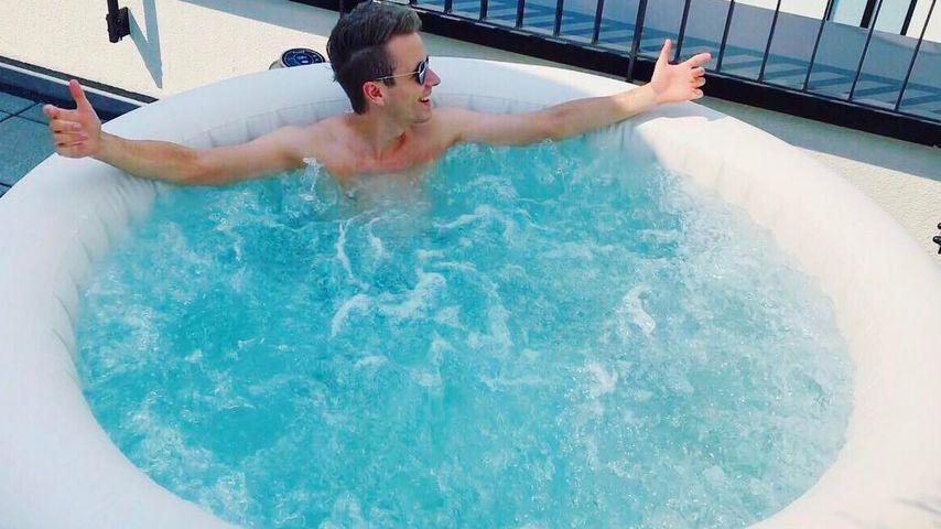 Luxus pur: Julian & Bibi haben nun einen zweiten Whirlpool!